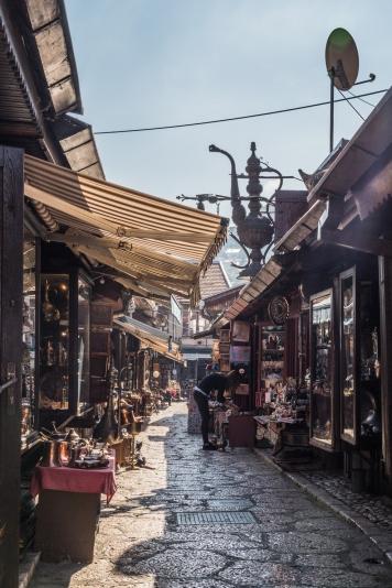 Sarajewo - Bascarsija, pamiątki