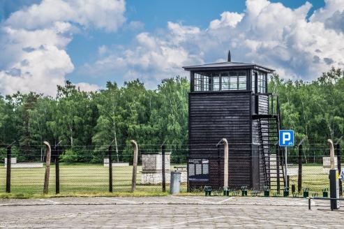 Stutthof - wieża strażnicza