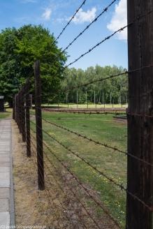 Stutthof - ogrodzenie