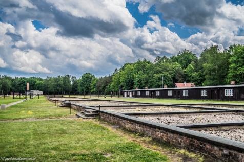 Stutthof - miejsca po barakach