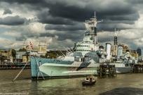 Londyn - HMS Belfast