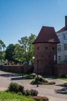 Braniewo - mury miejskie