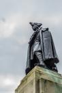 Londyn - Greenwich, pomnik Jamesa Wolfea