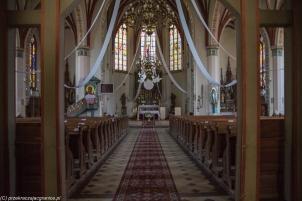 Pieniężno - kościół św. Apostołów Piotra i Pawła
