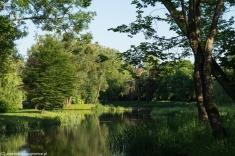 Galiny - park pałacowy