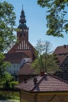 Lidzbark Warmiński - kościół św. Apostołów Piotra i Pawła