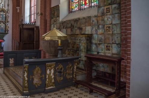 Lidzbark Warmiński - kościół św. Apostołów Piotra i Pawła, wnętrza