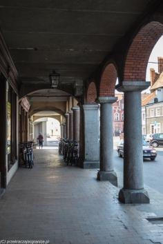 Orneta - kamienice przy rynku