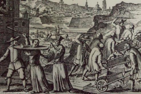 Reszel - ryciny z torturami