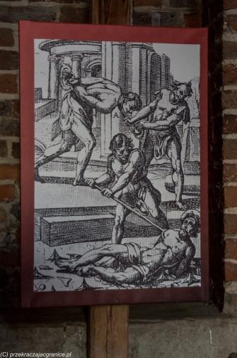 Reszel - rycina z torturami