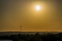 Reszel - widok z zamkowej wieży