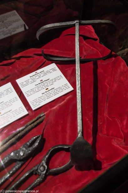 Reszel - rozdzieracz piersi, cęgi i szczypce