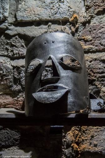 Reszel - maska hańby
