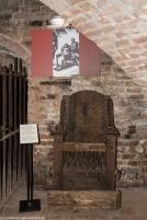 Reszel - krzesło inkwizytorskie