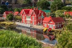 Legoland - nad rzeczką
