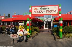 Legoland - pizzę można też zjeść