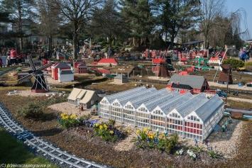 Legoland - holenderskie szklarnie