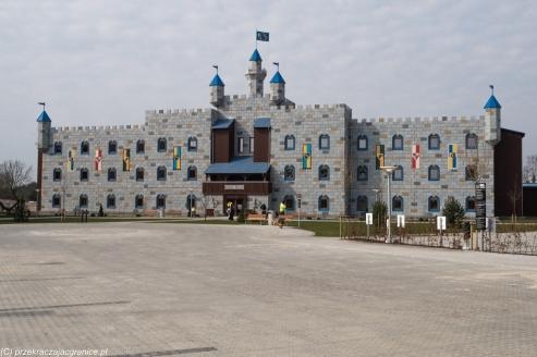 Legoland - zamek/hotel LEGO
