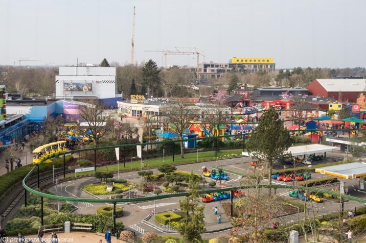 Legoland - panorama z wieży