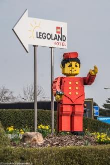 Legoland - trudno nie trafić