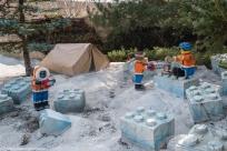 Legoland - praca na lodowcu