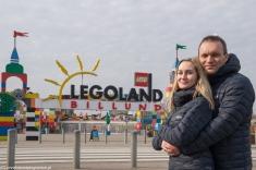 Legoland - przed wejściem do parku atrakcji