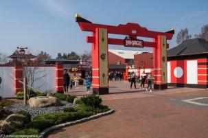 Legoland - wejście do strefy Ninjago