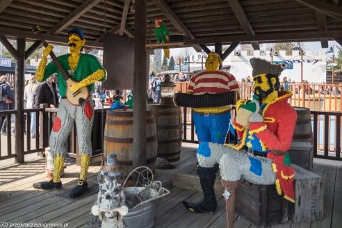 Legoland - nawet piraci się bawili
