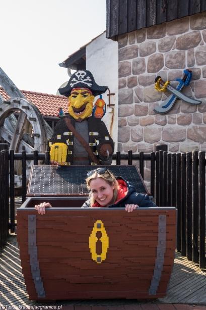 Legoland - skarb w skrzyni