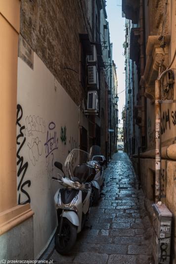 Palermo - wąskie uliczki