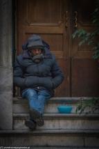 Palermo - Via Vittorio Emanuele - ludzie