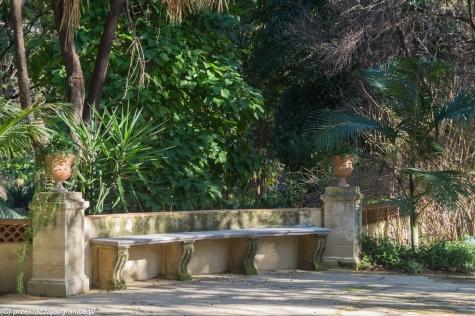 Palermo - po chwili zwiedzania można usiąść