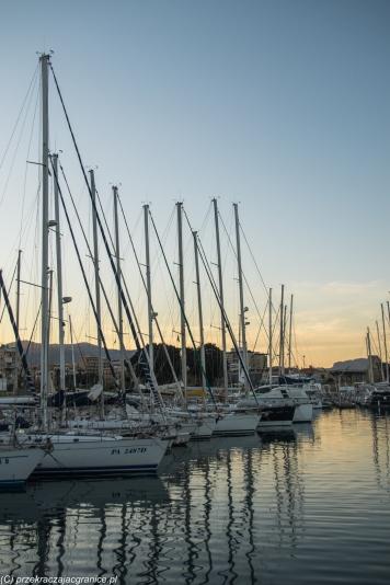 Palermo - port jachtowy