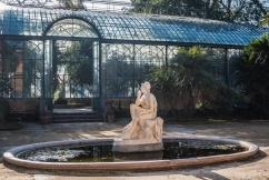 Palermo - Ogród Botaniczny, przed palmiarnią