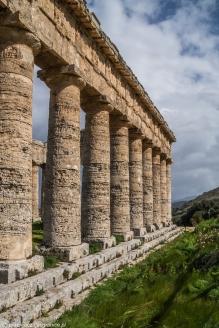 Segesta - kolumny świątyni