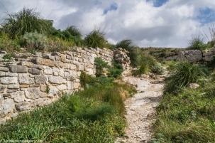 Segesta - mury miejskie
