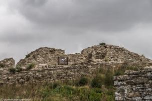 Segesta - pozostałości zamku