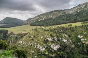 Segesta - panorama okolicy