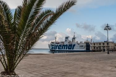 Trapani - przy nadbrzeżu portowym
