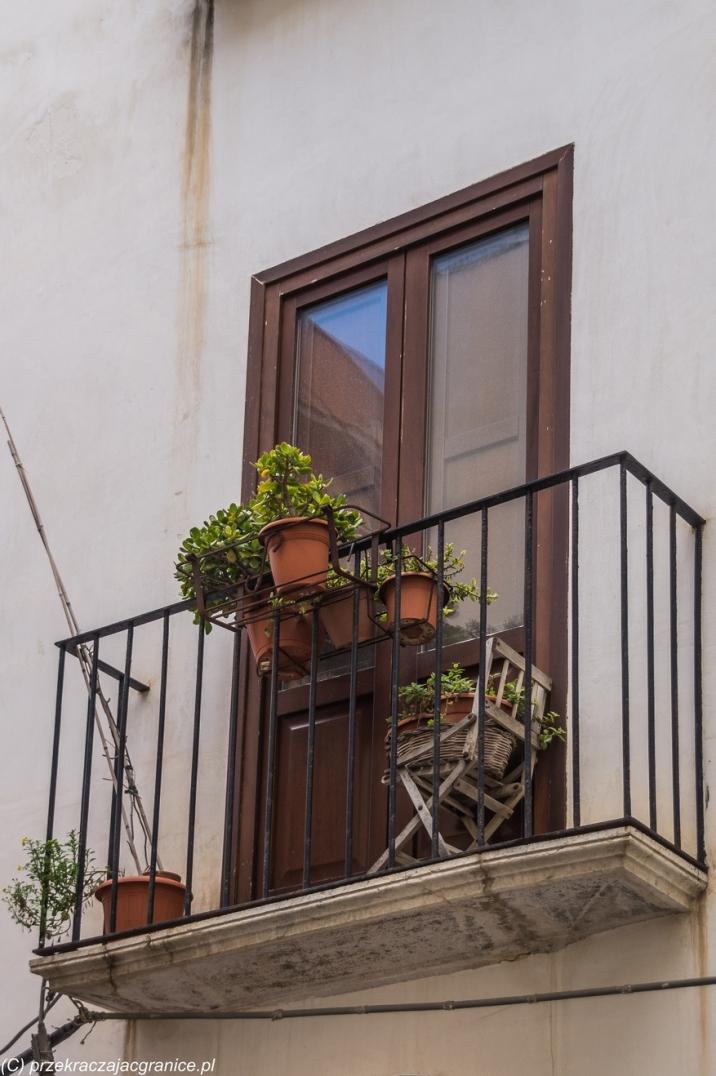 Trapani - ładne balkony